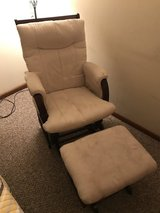 Glider chair and ottoman in Naperville, Illinois