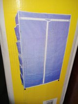 Fabric Wardrobe w/ Side Pockets NIB (2224-5) in Camp Lejeune, North Carolina
