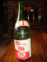 Vintage Montreal Cola Soda Pop Bottle- QT 32 Oz Green Glass in Algonquin, Illinois