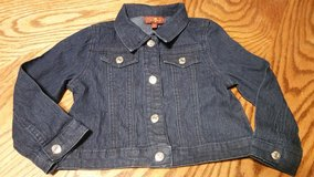 #5 SIZE 3T BLUE JEAN JACKET * GIRL in Fort Benning, Georgia