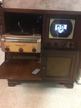 1949 Admiral tv/radio/phono repurposed in Bolingbrook, Illinois