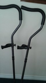 Pair of light weight alloy crutches in Fort Carson, Colorado