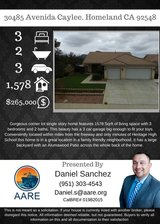 Great Home at a great Price, not far from base!!!! in Lake Elsinore, California
