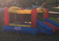 Little tikes bounce and slide in Columbus, Ohio