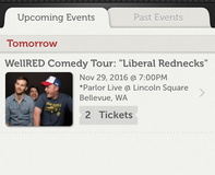 WellRed/Liberal Redneck Comedy Show in Fort Lewis, Washington