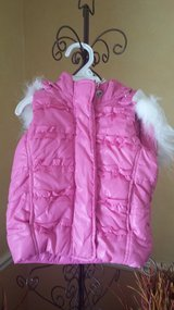 Old Navy Pink Hooded Vest - 18 mos in Naperville, Illinois