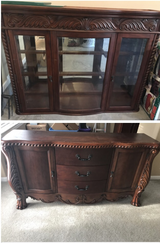 China cabinet in Fort Eustis, Virginia