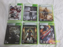 6 Xbox 360 Games-$50 for all 6 in Kingwood, Texas