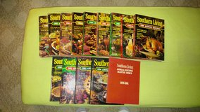 Southern Living Cook Books 1981-1992 & 1994 in Beaufort, South Carolina