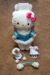 "Build-A-Bear 17"" Hello Kitty Figure Skater in Aurora, Illinois"