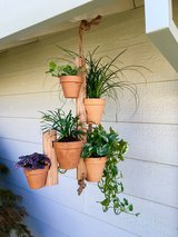 Woodworked Clay Pot Hanger for Herbs, Succulents, and all plants! in Travis AFB, California