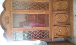 China  hutch  with lots of space above  and below  and with  interior  light in Jacksonville, Florida