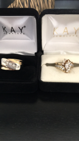 Wedding bands set in Travis AFB, California