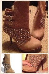 New 7.5 Jeffrey Campbell boots in Hinesville, Georgia