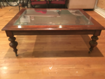 Ethan Allen Old World Treasures Coffee Table (Ethan Allen Designs) in Cary, North Carolina
