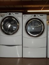 WHIRLPOOL DUET HT FRONT LOAD WASHER & DRYER SET in Fort Bragg, North Carolina