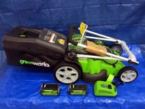 GreenWorks 25302  40V Twin Force 20-Inch Cordless Lawn Mower in Glendale Heights, Illinois