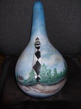 GOURD HANDPAINTED, SIGNED BY ARTIST. in Cherry Point, North Carolina
