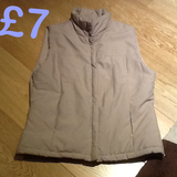 Beige Gilet by DIVA in Lakenheath, UK