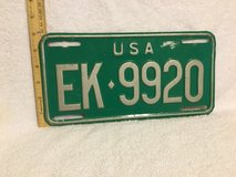 """VINTAGE 1960's US MILITARY FORCES  GERMANY LICENSE PLATE 12""""W x 6"""" L in Okinawa, Japan"""