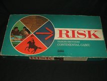Vintage Risk Board Game Complete by parker brothers in Lockport, Illinois