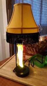 The Christmas story leg lamp in Fort Drum, New York