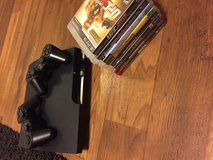 PS3 console with games in Vista, California