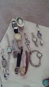 Watches, different pins/Christmas ,Earrings in Fort Campbell, Kentucky