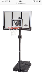 "52"" lifetime shatterproof basketball hoop in Luke AFB, Arizona"
