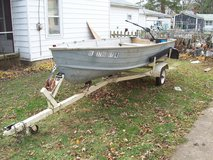 boat and trailer in Chicago, Illinois