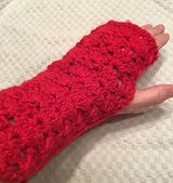 Fingerless Gloves, Arm Warmers, Shimmering in Mountain Home, Idaho