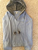 Hoodie with Faux Fur Lined Hood-Adult Medium in Chicago, Illinois