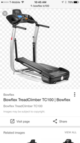 Bow flex Tread climber TC 100 in Orland Park, Illinois