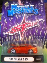 Muscle Machines 2001 Silva S15 SS Tuner 1:64 scale car in Clarksville, Tennessee