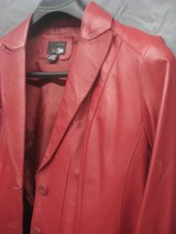 Red Leather Jacket in Alamogordo, New Mexico