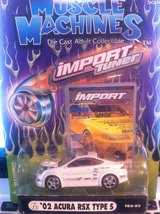 Muscle Machines 2002 Acura RSX Type S Import Tuner 1:64 scale die cast car. in Clarksville, Tennessee