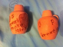 Great Hand Made Smokey Mountain Wooden Jug Salt and Pepper Shakers in Clarksville, Tennessee