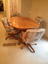 Dining room table and chairs in Fairfax, Virginia