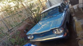 1960  Chevy Corvair in Fort Irwin, California