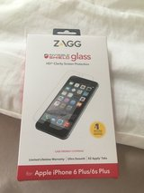 Zagg invisible glass screen protector  iPhone 6 Plus in Travis AFB, California