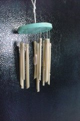 Baby Bamboo  Chime Ocean Theme,with Seashell,Handcrafted in Alamogordo, New Mexico