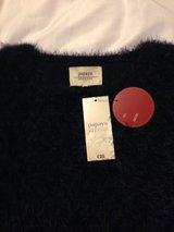 lovely   fluffy navy jumper new with tags in Lakenheath, UK
