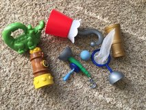 Captain Hook/Jake and the Neverland Pirates Toy Lot in Bolling AFB, DC