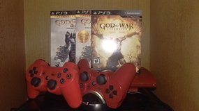 God of War Red PS3 Bundle - 500 GB in Bartlett, Illinois