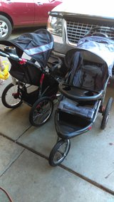 Jogging stroller  Red Expedition in Travis AFB, California