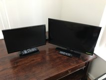 Samsung and Insignia TV with DVD player in Schofield Barracks, Hawaii