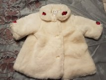 Baby Holiday Fur Coat - Sz 3-6 months - REDUCED!! in Travis AFB, California