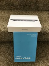 Brand New Never Open in the Box Galaxy Tab A Smoky Titanium 16GB Wi-Fi and IPAD MINI in Pearl Harbor, Hawaii