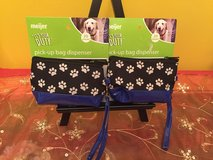 lot 2 pet dispensers waste dog poo puppy pick-up bags pet poop bag holder in Morris, Illinois