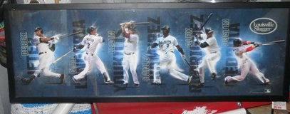 LOUISVILLE SLUGGERS FRAMED PICTURE in Cherry Point, North Carolina